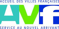 Nouveau logo AVF  by Accueil des Villes Françaises AVF UNAVF