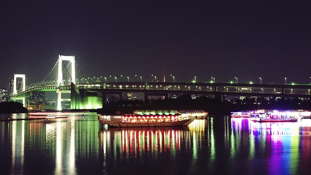 Tokyo Winter Nightscape - Bridge