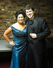 With soprano Marissa Famiglietti