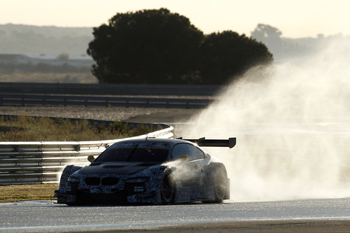 BMW M3 DTM test Circuito Monteblanco 2011