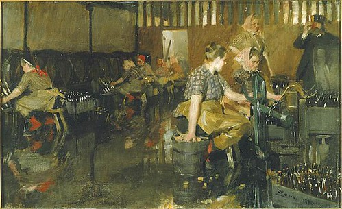 The little brewery, 1890, Anders Zorn, Nationalmuseum, Sweden