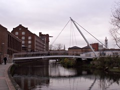 New Footbridge over the Foss