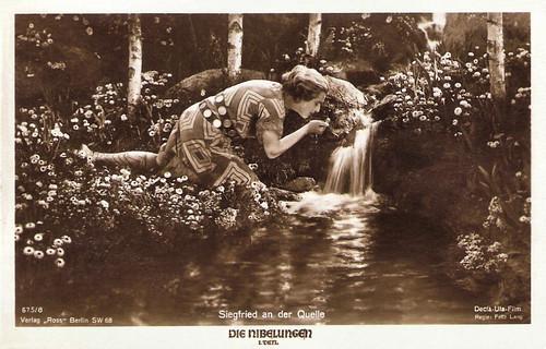 Die Nibelungen, Siegfried an der Quelle