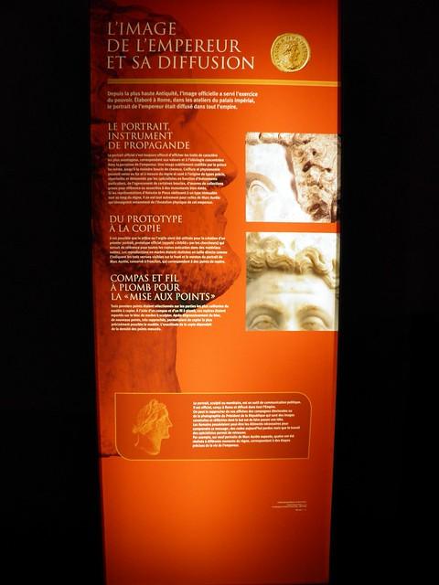 L'image de l'Empereur et sa diffusion, L'image et le pouvoir. Le siècle des Antonins (Image and power. The age of the Antonines), MSR, Musée Saint-Raymond, Musée des Antiques de Toulouse