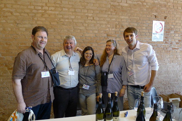 Giorgio and Martina Clai with Judith and Trevor from PC Wines