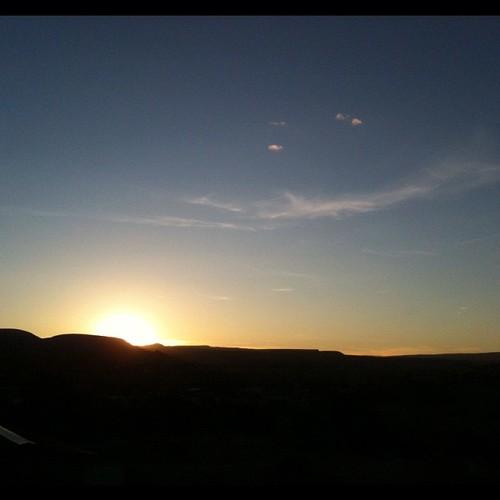 Sun setting #nofilter
