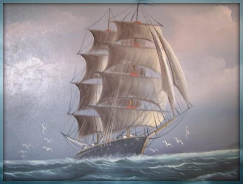 Allegories and Metaphors: Greek vessel coursing Rough Seas ...