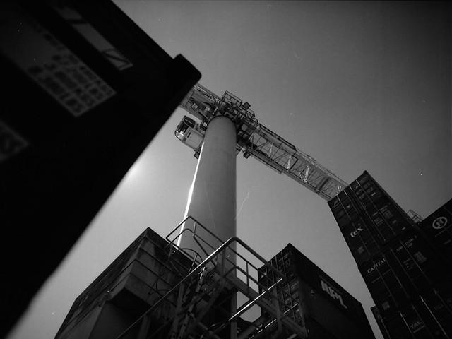 crane & container