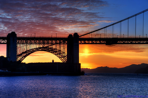 Golden Gate Spring Sunset 2011_3