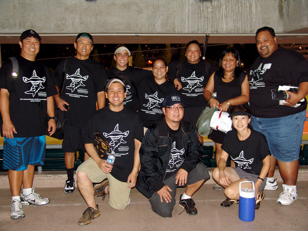 <p>The Honolulu Community College Dillinghammas team for the UH AUW Softball Tourment at Les Murakami Stadium on Sept. 30, 2011</p>