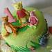 pooh cake n cookies