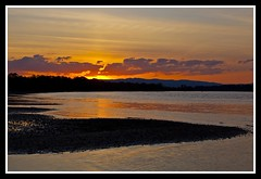 Sunset over Hayes Inlet Brighton-05=