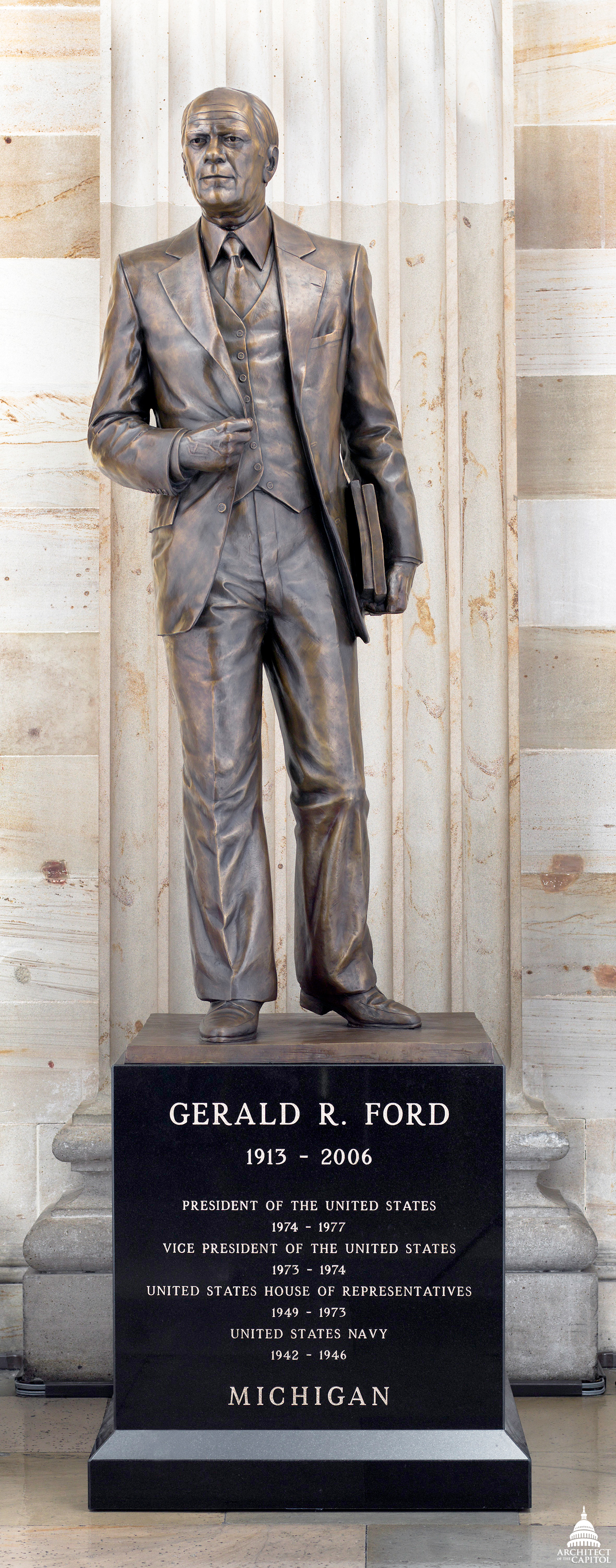 Gerald R Ford Jr Architect Of The Capitol