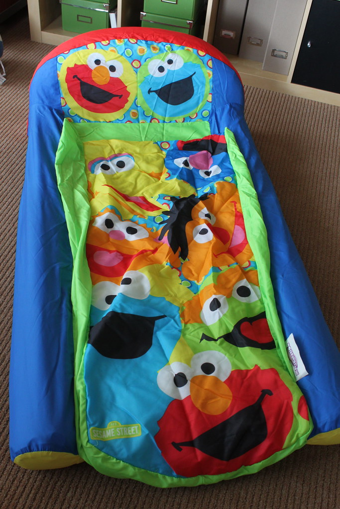 Sesame Street Inflatable Bed