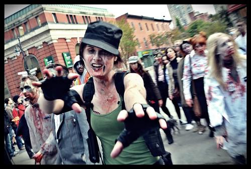 Montreal Zombie Walk 2011