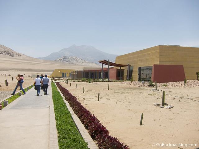 Museum at Huacas de Moche