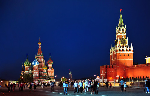 Kremlin, Red Square and St Basil Cathedral