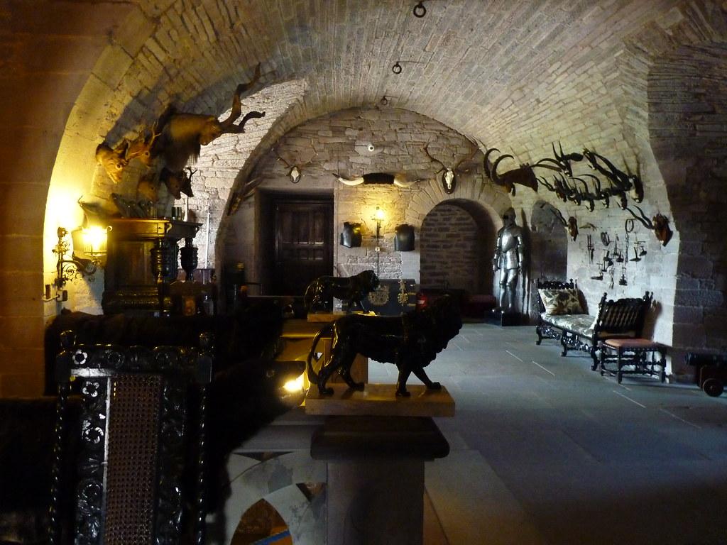 Cámara secreta castillo de Glamis