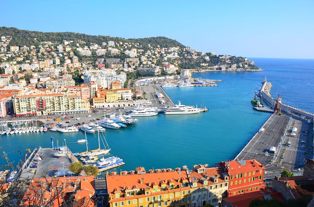 Nice le Port, Port of Nice, Nice, Côte d'Azur, France
