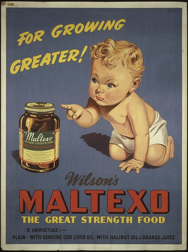 Maltexo for growing greater, 1935