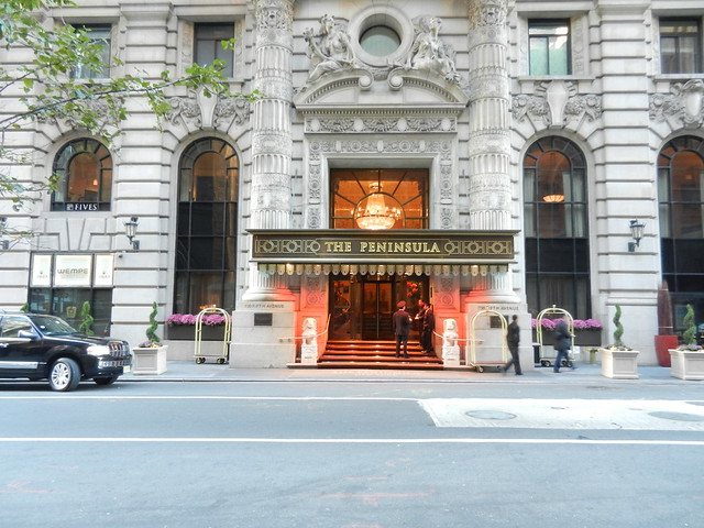 hotel peninsula new york: