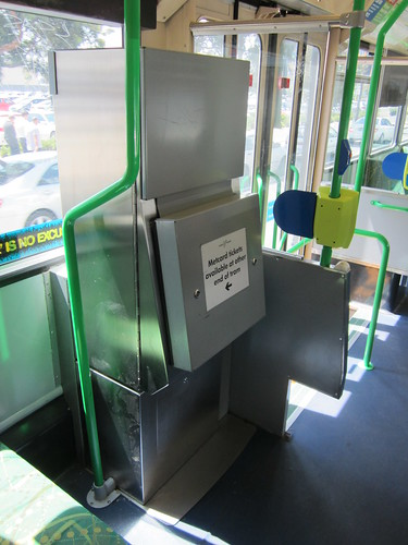 Myki tram vending machine trial