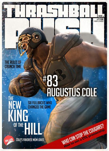 Gears of War 3: Cole Train Cinematic Magazine   Flickr