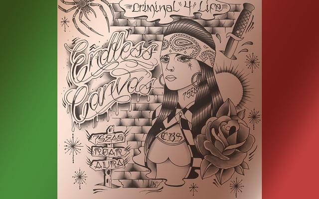CBS Crew - Desktop Wallpaper   Flickr - Photo Sharing! Mexican Drawings Chola