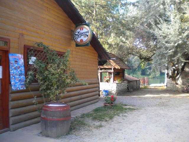 El camping del río Tisza