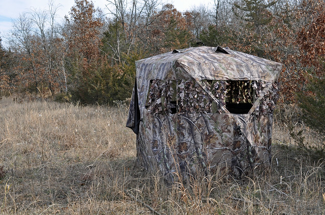 Blind Hunting with a Crossbow