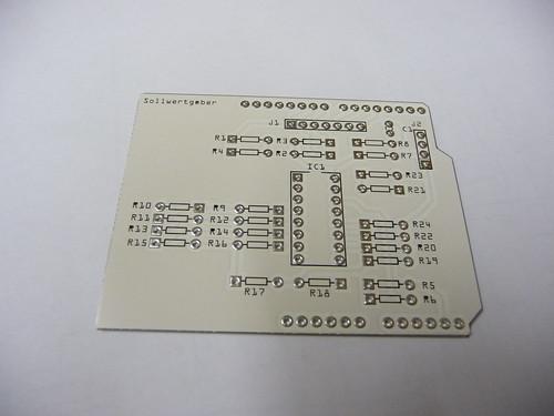 Arduino Sollwertgeber Shield