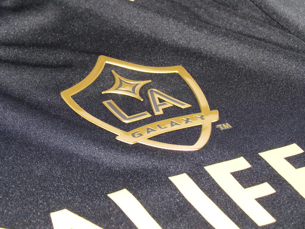 LA Galaxy black jersey
