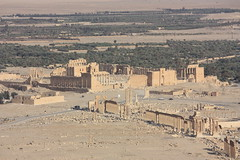 Palmyra, Temple of Bel and Great Colonnade