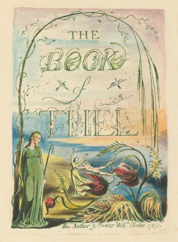 The Book of Thel (title page)
