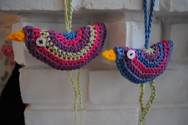 Birdie decoration