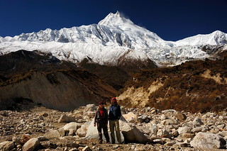 Sergey, I and Manaslu
