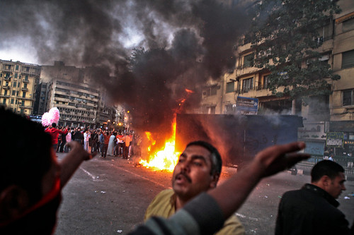 Egyptians demonstrate against the continuation of military rule in the North African state. At least 33 people have been killed since November 18, 2011. by Pan-African News Wire File Photos