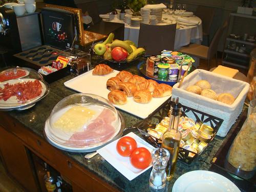 Buffet de desayuno