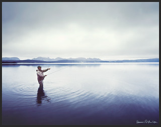 Flyfishing at Veiðivötn