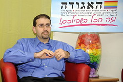 Ambassador Shapiro met with leaders of Aguda: The National Association of GLBT in Israel