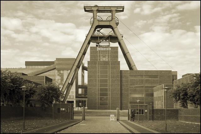 Bauhaus Architecture At Its Best Zeche Colliery