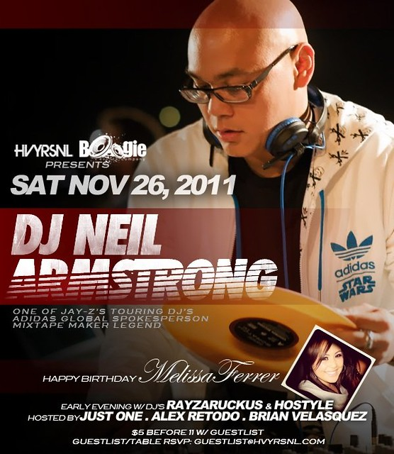 Neil Armstrong returns to San Jose @ Sat Nov 26th...