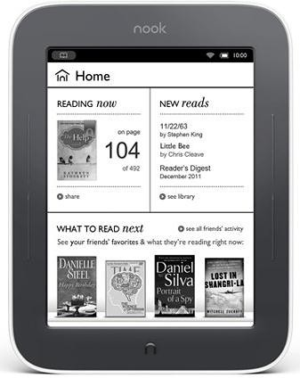 NOOK Simple Touch _White Border-Black Friday Deals