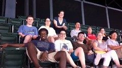 <p>We went out with the Accessibili-Tea group to see the Orioles last summer.</p>