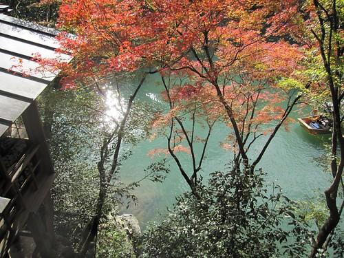 松籟庵から見た保津川 by Poran111