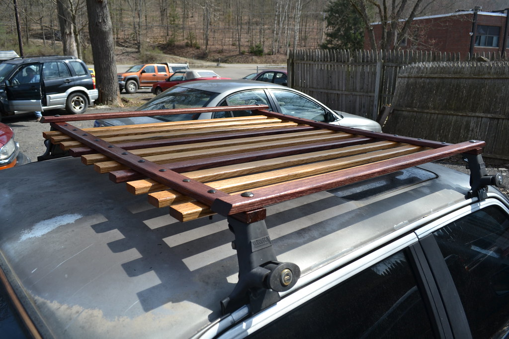 diy wood roof rack