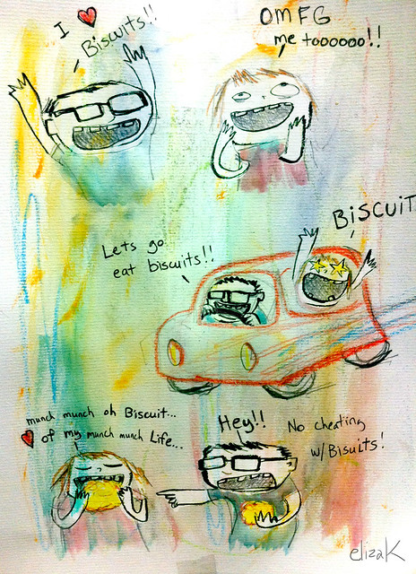 Biscuit comic