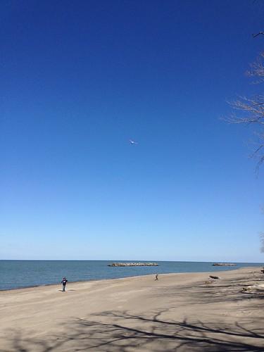 Kites at Presque Isle