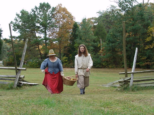 Colonial Costumed Interpreters, Historic St. Mary's City