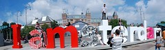 I Am Amsterdam Letters - Museumplein - Kenzo and Goin